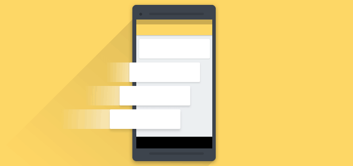 When RecyclerView couldn't hold onto the weights of ourLinearLayouts